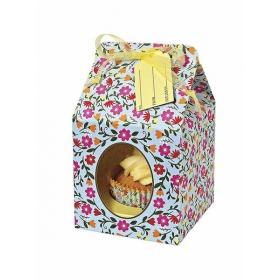 Cupcake box Floral - ΚΩΔ:45-0606-JP