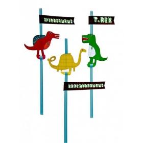 Καλαμάκια Δεινόσαυρος - ΚΩΔ:124435-JP