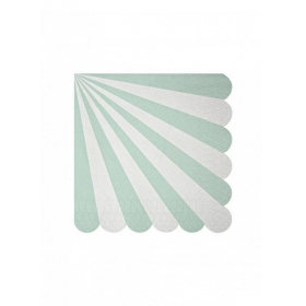 Χαρτοπετσέτα μικρή TS Blue Stripe - ΚΩΔ:125191-JP