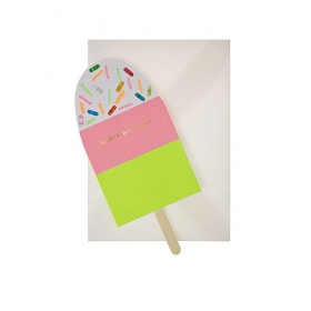 Neon Ice Cream Card - ΚΩΔ:134182-JP