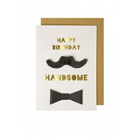 Happy Birthday Handsome Card - ΚΩΔ:134758-JP
