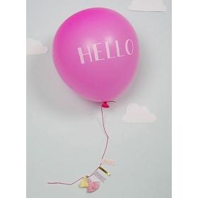 Pink Baby Ballon Card - ΚΩΔ:133741-JP
