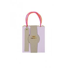 Τσάντες μικρές δώρου pastel & neon 3τμχ. - ΚΩΔ:132787-JP