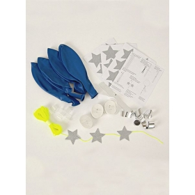 Balloon Kit Blue (8τεμ) - ΚΩΔ:132985-JP