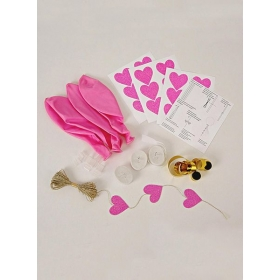 Balloon Kit Pink (8τεμ) - ΚΩΔ:45-1663 -JP