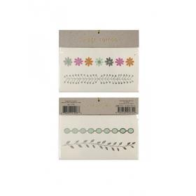 Tattoos floral & leaf - ΚΩΔ:134875-JP