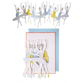 Ballet Dancers Banner Card - ΚΩΔ:147214-JP
