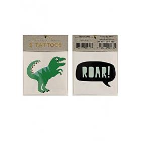 Τατουάζ Δεινόσαυροι 2τμχ - ΚΩΔ:133336-JP