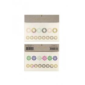 Geo Flower Τατουάζ 2τμχ - ΚΩΔ:134884-JP
