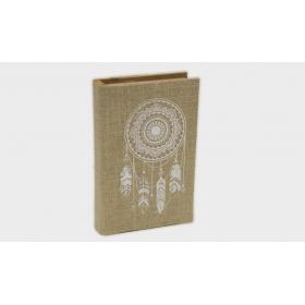 ΞΥΛΙΝΟ ΒΙΒΛΙΟ ΚΑΜΒΑΣ ΟΝΕΙΡΟΠΑΓΙΔΑ 21cm 17-8070  - ΚΩΔ:621148