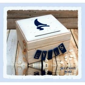 ΚΟΥΤΙ ΕΥΧΩΝ ΜΠΛΕ ΚΑΡΑΒΙ- ΚΩΔ:BLUE-NAVY-BOAT-BOX-BM