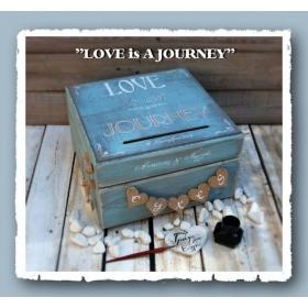 ΚΟΥΤΙ ΕΥΧΩΝ LOVE IS A JOURNEY - ΚΩΔ:JOURNEY-BOX-BM