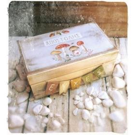 ΚΟΥΤΙ ΕΥΧΩΝ ΜΑΝΙΤΑΡΙΑ MUSHROOMS- ΚΩΔ: MUSH-BOX-BM