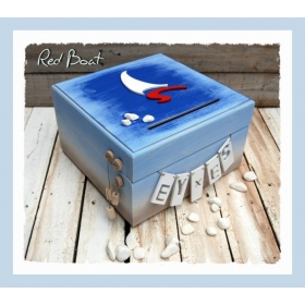 ΚΟΥΤΙ ΕΥΧΩΝ ΜΕ ΕΙΚΑΣΤΙΚΟ ΚΑΡΑΒΙ RED BOAT- ΚΩΔ: RB-BOX-BM