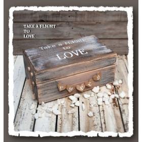 ΚΟΥΤΙ ΕΥΧΩΝ TAKE A FLIGHT TO LOVE - ΚΩΔ:LOVE-BOX-BM