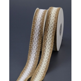 ΚΟΡΔΕΛΑ ΛΙΝΗ ΜΕ ΔΑΝΤΕΛΑ 2.5cm X 9.1m  - ΚΩΔ:KLDG-NU