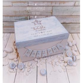 ΜΠΑΟΥΛΟ ΒΑΠΤΙΣΗΣ ΞΥΛΙΝΟ TWINKLE LITTLE STAR - ΚΩΔ: TWINKLE-BM