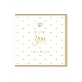 Ευχετήρια Κάρτα – Ι love you - ΚΩΔ:MD33-JP