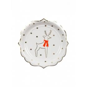 Πιάτο Γλυκού Τάρανδος και Αστέρια - ΚΩΔ:178993-JP