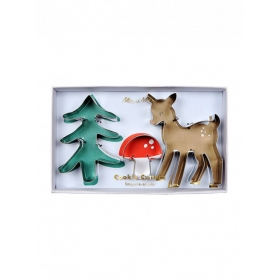 Woodland Cookie Cutters - ΚΩΔ:163594-JP