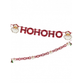 Χριστουγεννιάτικη γιρλάντα Άγιος Βασίλης - ΚΩΔ:BC-SANTA-GARLAND-JP