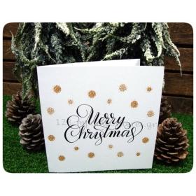 ΕΥΧΕΤΗΡΙΑ ΧΡΙΣΤΟΥΓΕΝΝΙΑΤΙΚΗ ΚΑΡΤΑ - MERRY CHRISTMAS - ΚΩΔ:KART-04
