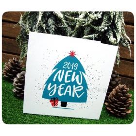 ΕΥΧΕΤΗΡΙΑ ΧΡΙΣΤΟΥΓΕΝΝΙΑΤΙΚΗ ΚΑΡΤΑ - HAPPY NEW YEAR 2020 - ΚΩΔ:KART-08