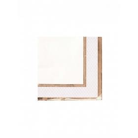 Χαρτοπετσέτες Party Porcelain Rose Gold - ΚΩΔ:PPRG-NAPKIN-RG-JP