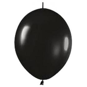 ΜΑΥΡΑ ΜΠΑΛΟΝΙΑ ΓΙΑ ΓΙΡΛΑΝΤΑ 6΄΄ (15cm)  – ΚΩΔ.:13506080L-BB