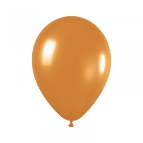 ΜΕΤΑΛΛΙΚΑ ΧΡΥΣΑΦΙ ΜΠΑΛΟΝΙΑ 5΄΄ (12,7cm) LATEX – ΚΩΔ.:13506570-BB