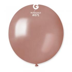 ΡΟΖ-ΧΡΥΣΑ ΜΠΑΛΟΝΙΑ 19΄΄ (48cm)  LATEX – ΚΩΔ.:1361971-BB