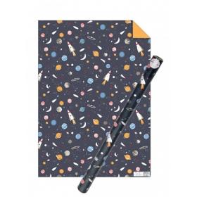 Χαρτί Περιτυλίγματος Διάστημα - ΚΩΔ:173530-JP