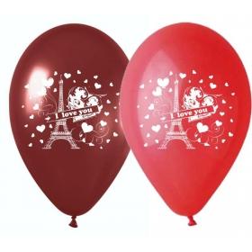 ΜΠΑΛΟΝΙΑ ΤΥΠΩΜΕΝΑ LOVE IN PARIS 12'' (30cm) – ΚΩΔ.:13512353-BB