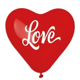 ΚΟΚΚΙΝΑ ΜΠΑΛΟΝΙΑ ΤΥΠΩΜΕΝΑ ΚΑΡΔΙΕΣ LOVE 17'' (43cm) – ΚΩΔ.:13617452-BB