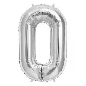 ΜΠΑΛΟΝΙ FOIL ΑΣΗΜΙ 40cm ΑΡΙΘΜΟΣ ΜΗΔΕΝ – ΚΩΔ.:526N70-BB