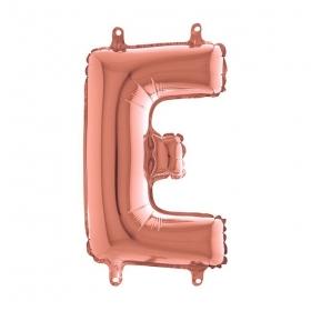 ΜΠΑΛΟΝΙ FOIL ΡΟΖ-ΧΡΥΣΟ 35cm ΓΡΑΜΜΑ E – ΚΩΔ.:142423RG-BB