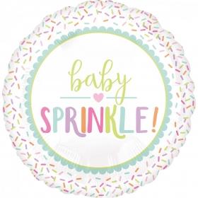 ΜΠΑΛΟΝΙ FOIL 45cm ΓΙΑ ΓΕΝΝΗΣΗ «Baby Sprinkle» – ΚΩΔ.:538000-BB