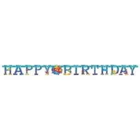 ΧΑΡΤΙΝΟ BANNER 'HAPPY BIRTHDAY' ΨΑΡΑΚΙΑ - ΚΩΔ:129302-BB