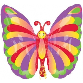 ΜΠΑΛΟΝΙ FOIL SUPER SHAPE CUTE BUTTERFLY 72x93cm – ΚΩΔ.:22989-BB