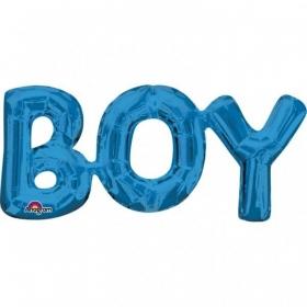 ΜΠΑΛΟΝΙ FOIL 50x22cm ΓΙΑ ΓΕΝΝΗΣΗ SUPERSHAPE «Boy» ΣΥΝΘΕΣΗ – ΚΩΔ.:533098-BB