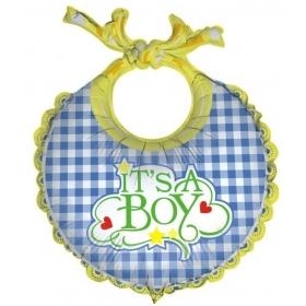ΜΠΑΛΟΝΙ FOIL 28cm ΓΙΑ ΓΕΝΝΗΣΗ SUPERSHAPE ΣΑΛΙΑΡΑ BABY BOY  – ΚΩΔ.:85188-BB