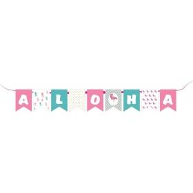 ΣΗΜΑΙΑΚΙΑ ΠΑΡΤΥ ''ALOHA'' ΦΛΑΜΙΝΓΚΟ - ΚΩΔ:P259111-6-BB