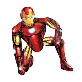 ΜΠΑΛΟΝΙ FOIL AIRWALKERS Iron Man 116X93 cm – ΚΩΔ.:110062-BB