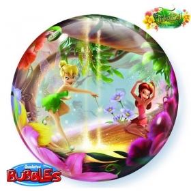 """ΜΠΑΛΟΝΙ FOIL 22""""(56cm) TINKERBELL Bubble ΜΟΝΟ – ΚΩΔ.:19874-BB"""