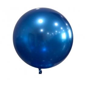 """ΜΠΑΛΟΝΙ FOIL 18""""(45cm) ΜΠΛΕ Bubble Chrome – ΚΩΔ.:207193-BB"""