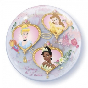 "ΜΠΑΛΟΝΙ FOIL 22""(56cm) DISNEY PRINCESSES Bubble ΜΟΝΟ – ΚΩΔ.:29164-BB"
