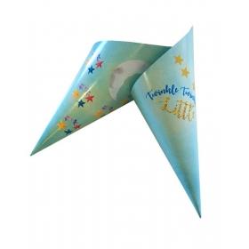 ΓΑΛΑΖΙΟ ΧΩΝΑΚΙ ΖΑΧΑΡΩΤΩΝ BABY SHOWER 'TWINKLE TWINKLE LITTLE STAR' - ΚΩΔ:D1401-7-BB