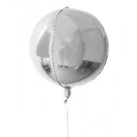 """ΜΠΑΛΟΝΙ FOIL 16""""(40cm) ΟΡΒΖ ΑΣΗΜΙ – ΚΩΔ.:207132f-BB"""
