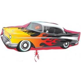 ΜΠΑΛΟΝΙ FOIL 88cm SUPER SHAPE 50's ROCKIN CAR – ΚΩΔ.:527461-BB