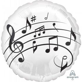 ΜΠΑΛΟΝΙ FOIL 45cm MUSIC FUN – ΚΩΔ.:535755-BB